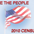 2010 census - We the — Stock Photo
