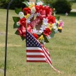 Memorial day - Dad arrangement — Stock Photo