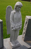 Begraafplaats engel — Stockfoto