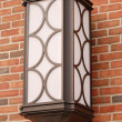 Sconce on brick — Stock Photo