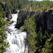 Yellowstone waterfall — Stock Photo