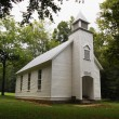 Smoky Mountains Palmer Chapel - Stock Photo