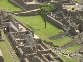 Machu Picchu courtyard — Stock Photo