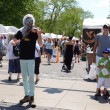 Стоковое фото: Violin Monster at Art Fair
