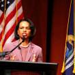 Condoleezza Rice at Michigan — Stock Photo