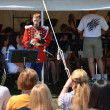 USMB clarinetist at Picnic Pops - Stock Photo