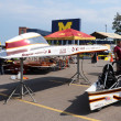 Iowa State University's solar car — Foto Stock