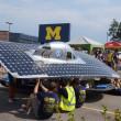 Berkeley solar car at American Solar Challenge — Stock Photo