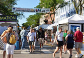 Ann Arbor Summer Art Fair 2011 — 图库照片