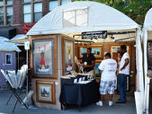 Richard Wilson at Ann Arbor Art Fair — Stock Photo