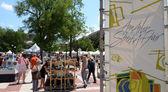 Ann arbor street art fair — Stock fotografie