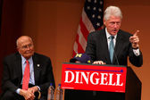 Former President Bill Clinton and Congressman John Dingell — Foto Stock