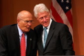 President Clinton and Congressman Dingell — Stock Photo