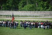 Civil War reenactors Greenfield Village, MI — Stock Photo