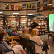 Jim Ottaviani at Nicola's Books June 2013 — Stock Photo