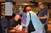 Jim Ottaviani at Nicola's Books June 2013 — Stock Photo