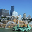 Stock Photo: Chicago's Buckingham Fountain