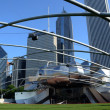 Stock Photo: Jay Pritzker Pavilion, Chicago