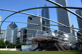 Jay Pritzker Pavilion, Chicago — Stock Photo