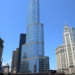 Trump International Hotel and Tower in Chicago — Stock Photo #37914633