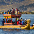 Постер, плакат: Totora on Lake Titicaca