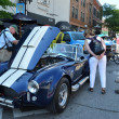 Постер, плакат: 1965 Shelby Cobra at Rolling Sculpture show 2013