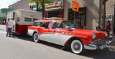 1957 Buick Caballero at Rolling Sculpture show 2013 — Stock Photo