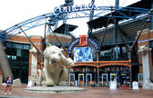 Comerica Park front entrance — Stock Photo