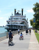 Detroit Princess riverboat in Detroit, MI — Stock Photo