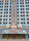 Fox theater in Detroit, MI — Stock Photo