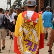 Real Madrid fan in Ann Arbor — Stock Photo #51145253