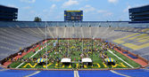 Michigan Football Youth Day crowd — Photo