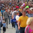 Stock Video: Crowd. festival