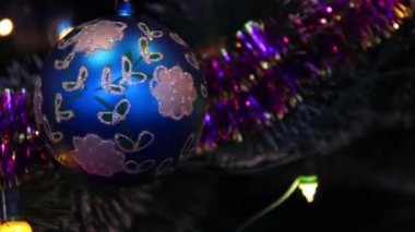 Christmas toys — Stock Video
