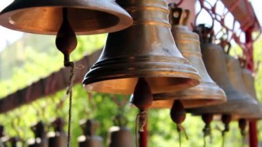 Church bells — Stock Video