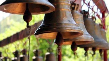 Church bells — Stock Video