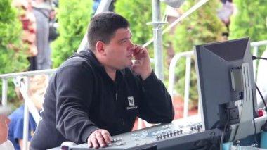 Soundman — Stock Video