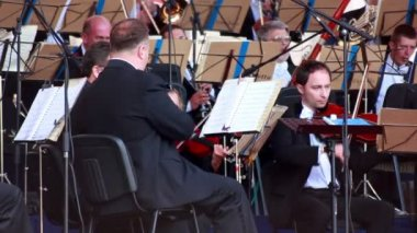 Lviv Symphony Orchestra — Stock Video