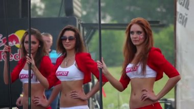 Sexy model girls — Stock Video