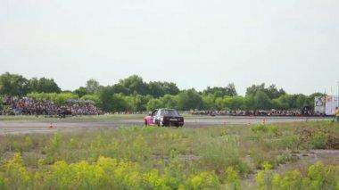 Racing car — Stock Video