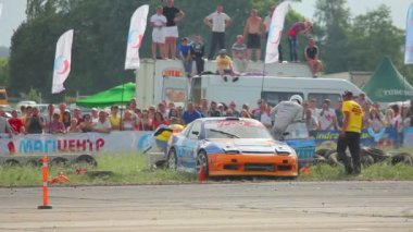 Racing car festival — Stock Video