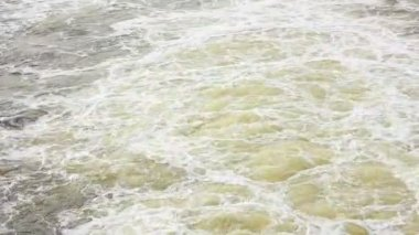 Seethe water — Stockvideo