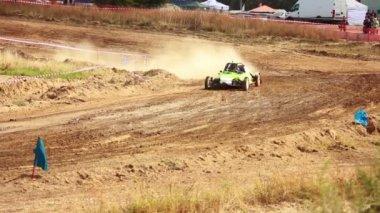Cars racing — Stock Video