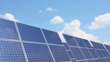 Solar panel — Stock Video