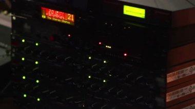 Audio console — Stock Video