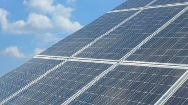 太陽電池パネル — ストックビデオ