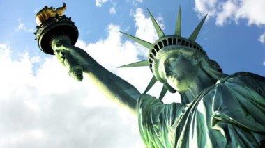 Statue liberty — Stock Video