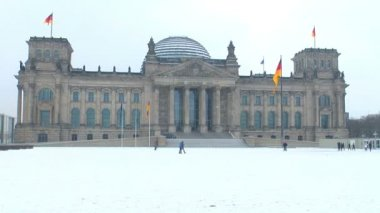 Reichstag building — Stock Video