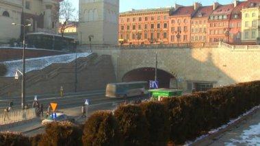 Varşova'daki eski şehir — Stok video