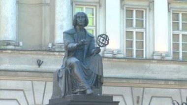 Copernicus monument — Stock Video
